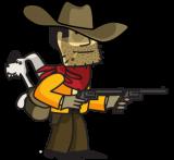 Johhny Revolver and colt revolvers